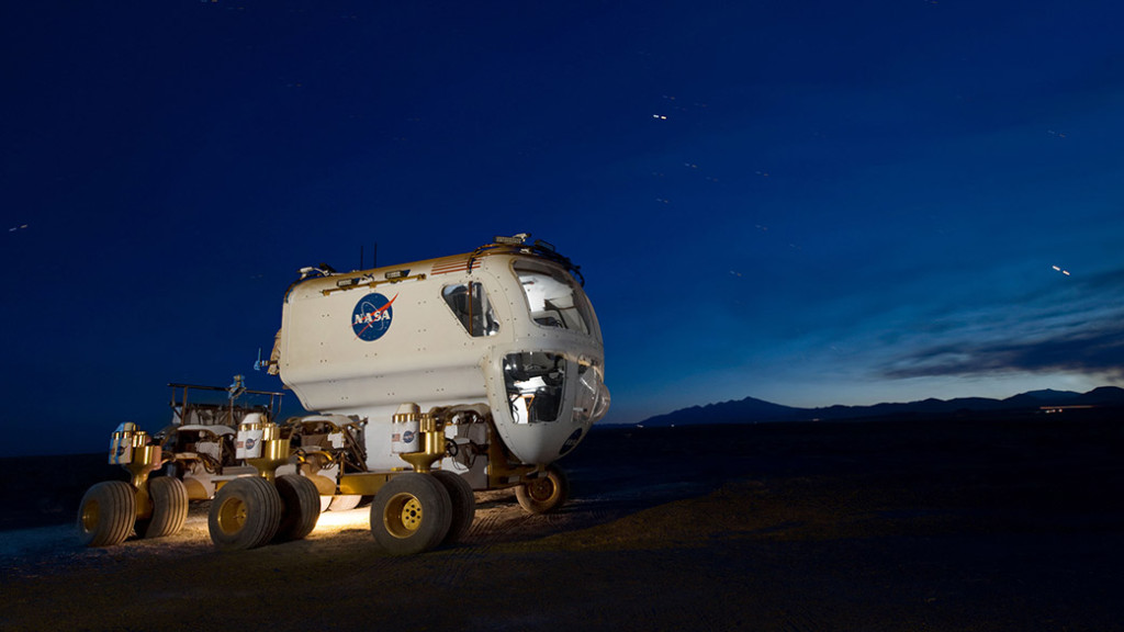 NASA is currently working to on a vehicle that will be able to navigate tough terrain with the Multi-Mission Space Exploration Vehicle (MMSEV). Image Credit: NASA