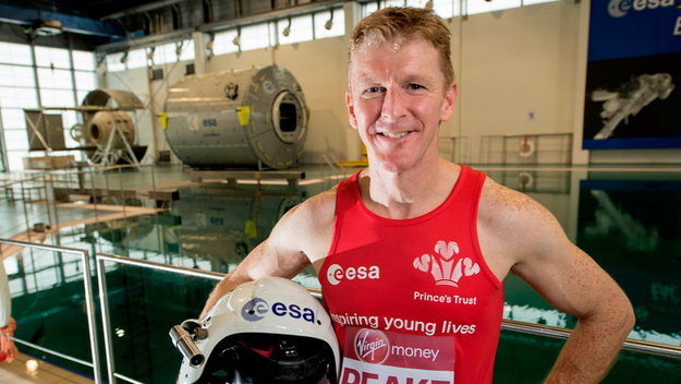 Astronaut Tim Peake. Image Credit: European Space Agency (ESA)