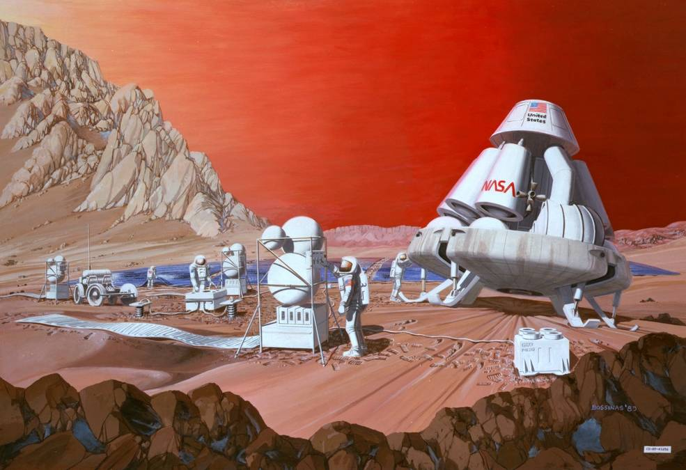 Pioneer Energy's system is based on technology designed to help future missions to Mars use resources on the Red Planet to manufacture fuel, oxygen and other crucial substances for the trip home. Image Credit: NASA