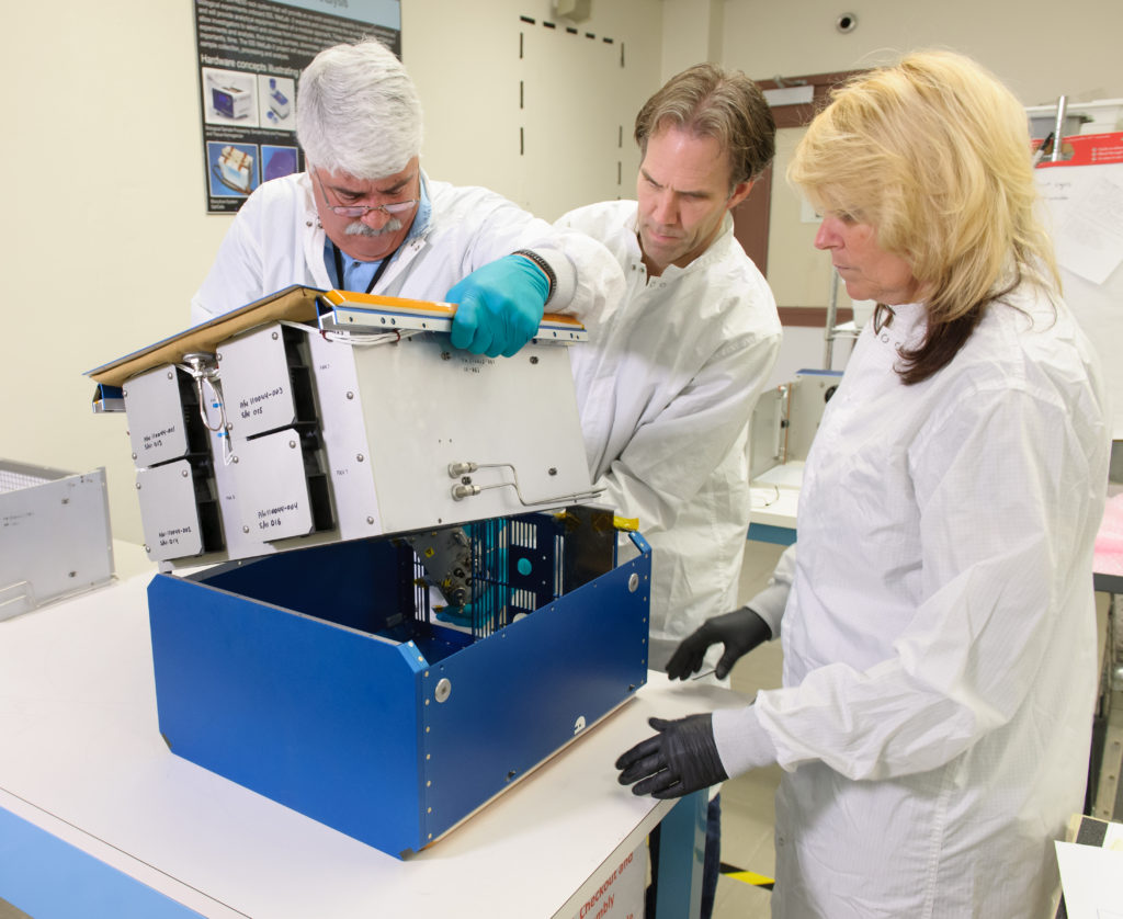 Under the direction of the International Space Station Utilization Office and the Space Biology Project, NASA's Rodent Research Hardware System was developed and built at NASA's Ames Research Center to provide a research platform for long-duration rodent studies in space. Image Credit: NASA