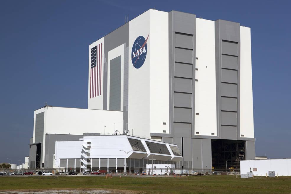 Kennedy Space Center's iconic Vehicle Assembly Building. Image Credit: NASA