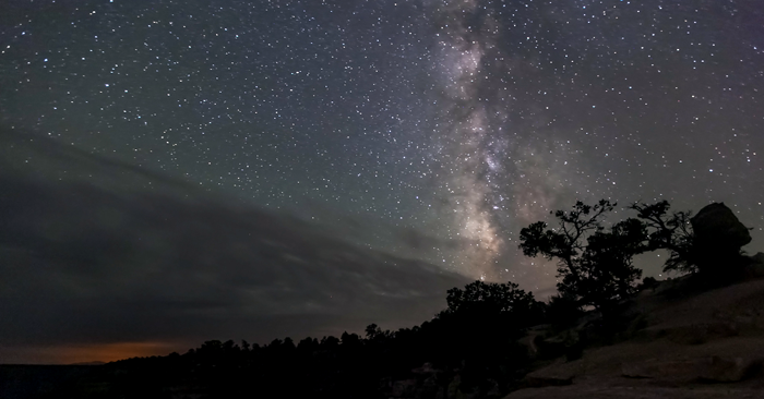 The summer Milky Way sets over Grand Canyon National Park. Image Credit: U.S. National Park Service