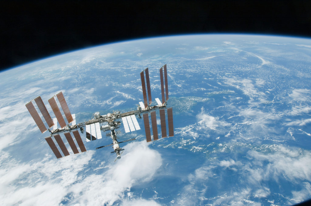 The International Space Station. Image Credit: NASA