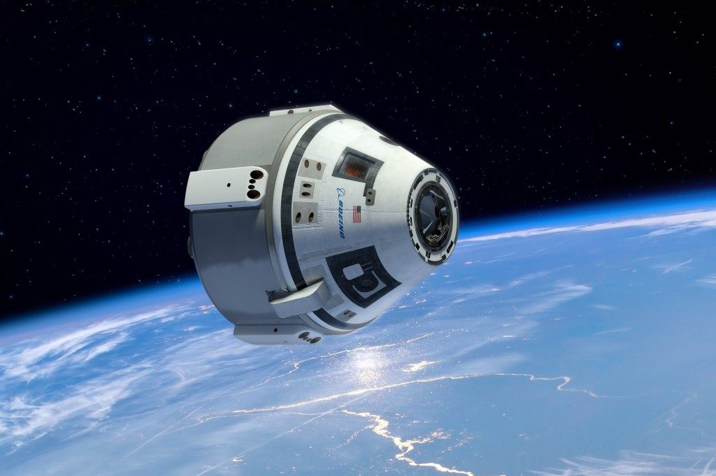 The Boeing CST-100 Starliner will transport astronaut crews to the International Space Station. Image Credit: Boeing