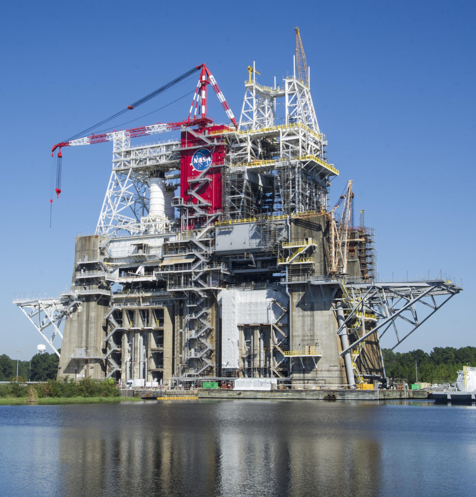 B-2 Test Stand at Stennis Space Center. Image Credit: NASA